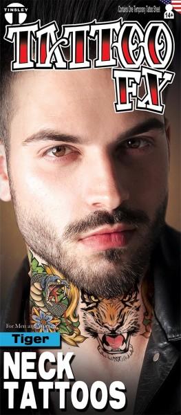 FX Hals Tattoo Tiger