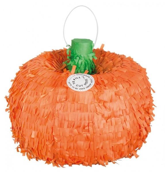 Feliz piñata de calabaza de Halloween