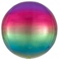 Ombré Orbz Ballon bunt 40cm