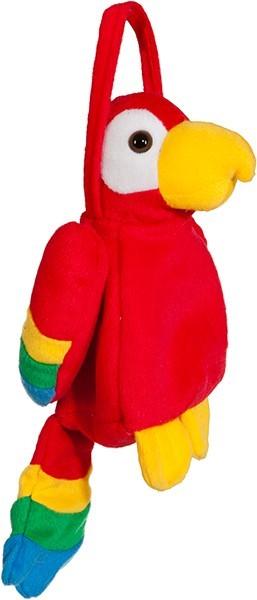 Rote Papageien Kinder Tasche 1