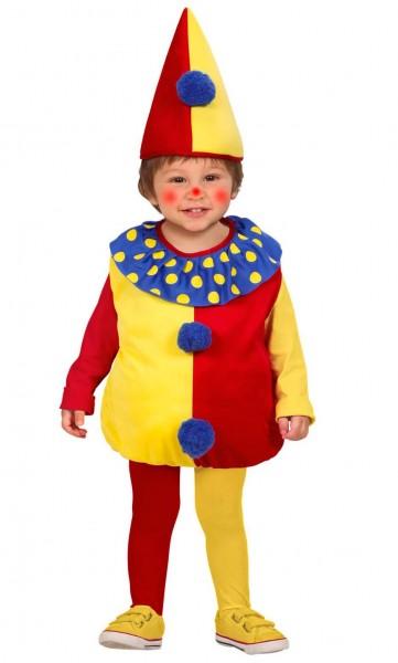 Kostium pluszowy klaun dla dzieci