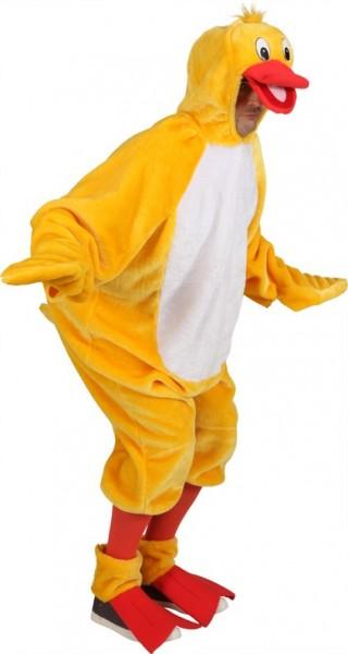 Costume in peluche con polsini