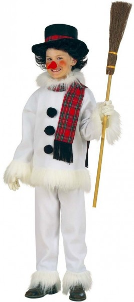 Snowman child costume deluxe