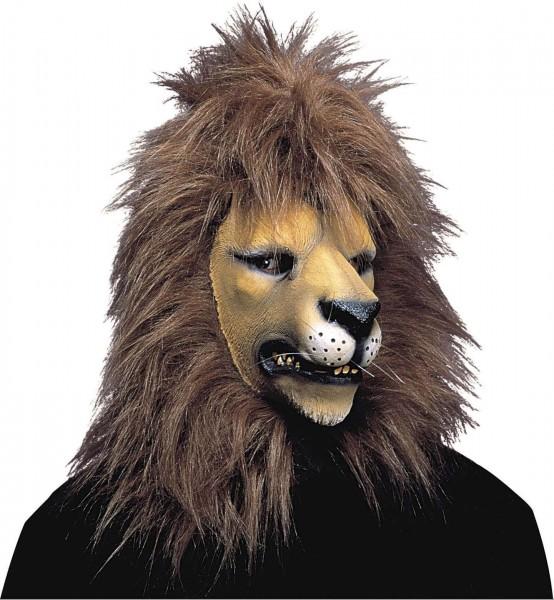 Löwenkopf Maske Mit Mähne