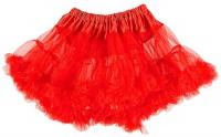 Roter Petticoat Unterrock