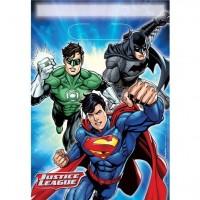 8 Justice League Superhelden Geschenktüten