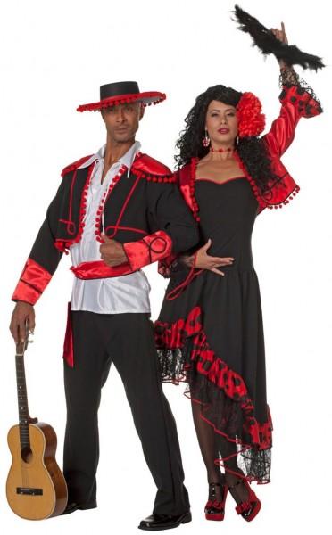 Aurelia Tango Tänzerin Damenkostüm