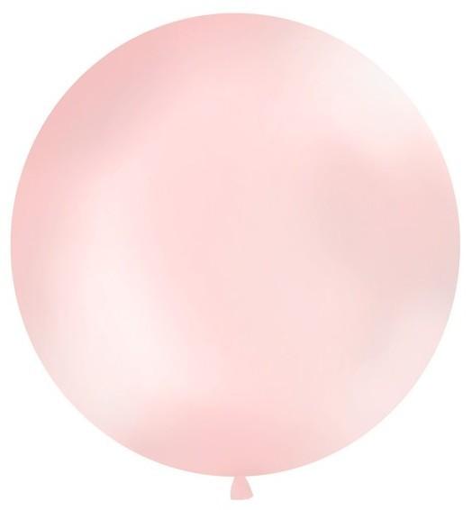 Palloncino gigante rotondo rosa chiaro 100m