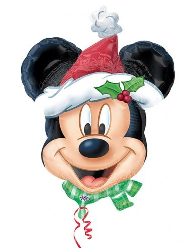 Mickey Mouse Christmas party balloon