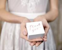 10 Thank you Geschenkboxen roségold
