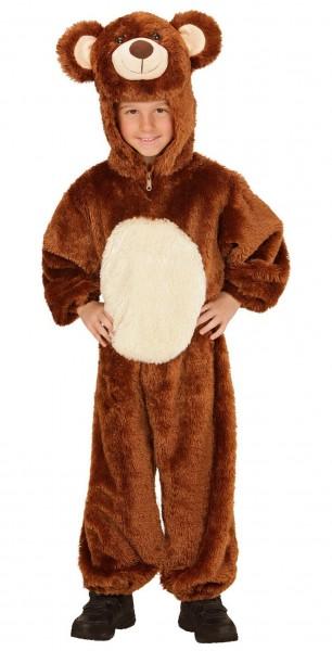 Plüschiges Bärenkostüm Für Kinder
