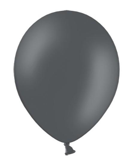 100 Luftballons Nina Grau 35cm