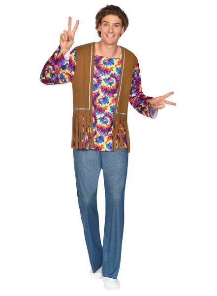 Hippie Herrenkostüm Classic