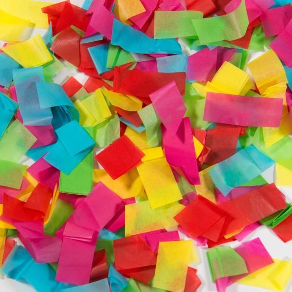 Party Popper pluie de confettis colorés