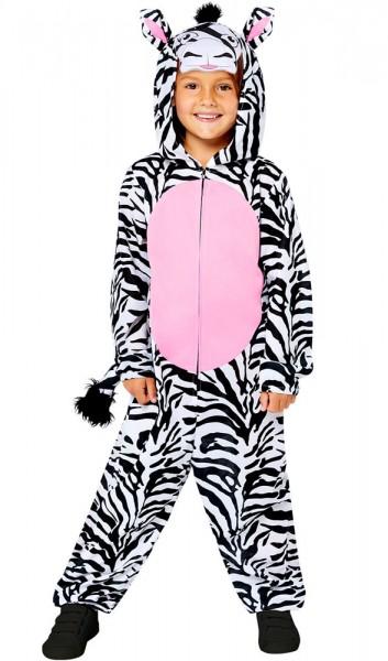 Zebra Overall Kinderkostüm