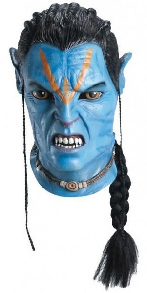 Blaue Sully Avatar Maske
