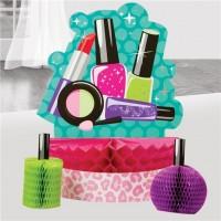 Beauty Case Tischdeko 3-teilig