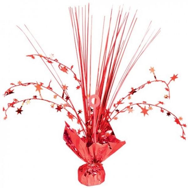 Rote Sternchen Tischfontäne 30cm