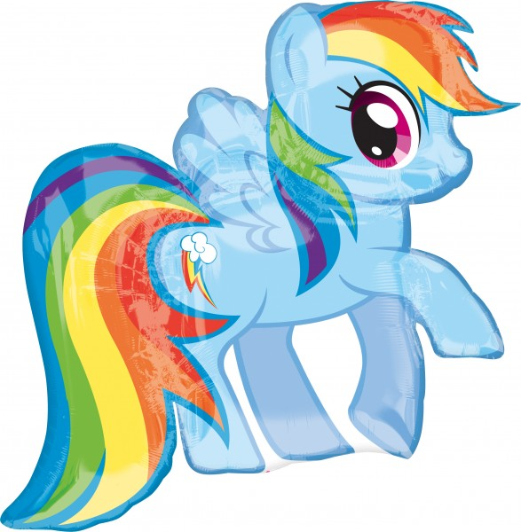 Balon foliowy My Little Pony Rainbow Dash