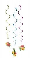 3 Hawaii Sommerparty Spiralhänger