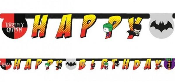 Batman und Joker Geburtstags-Girlande 2,5m