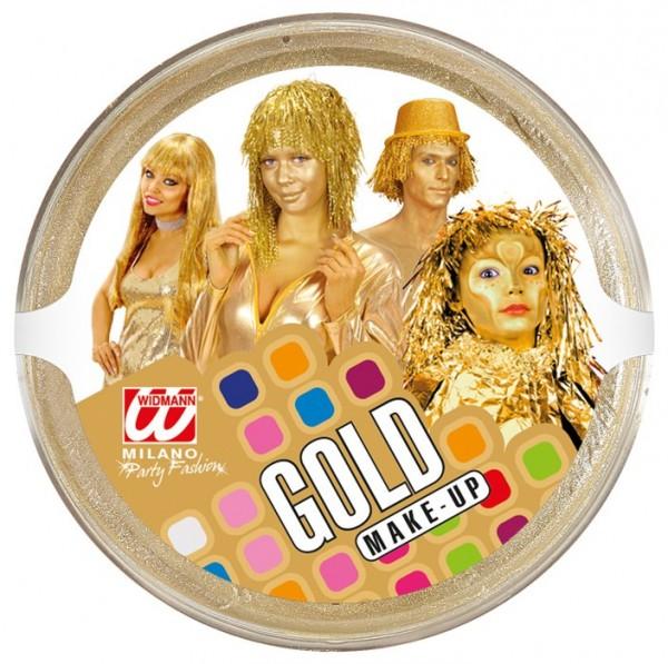 Goldenes Körper Make-Up 25g