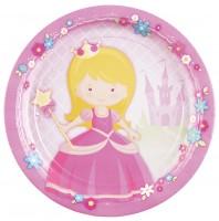 8 Prinzessin Isabella Pappteller 23cm