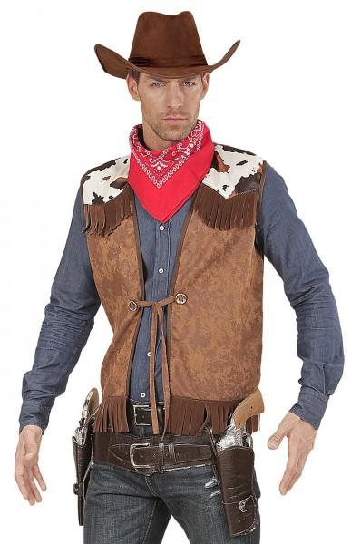 Klassische Wild West Cowboy Weste