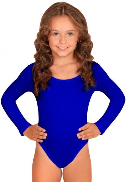 Body enfant classique bleu
