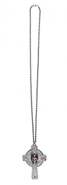 Dämonen Kreuz Halskette