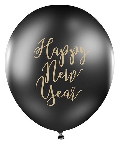 6 Royal New Year Luftballons 30cm