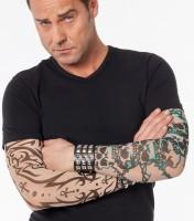Kreuz Tattoo Gothik Ärmel
