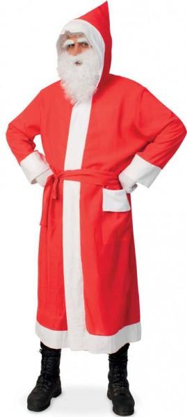 Long Santa Claus coat with belt