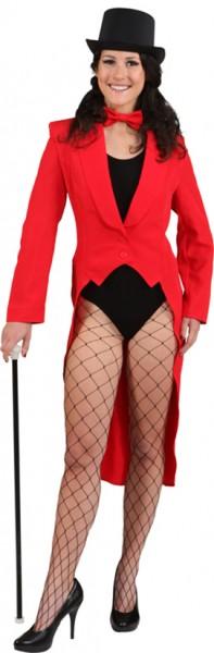 Eleganter Roter Damenfrack