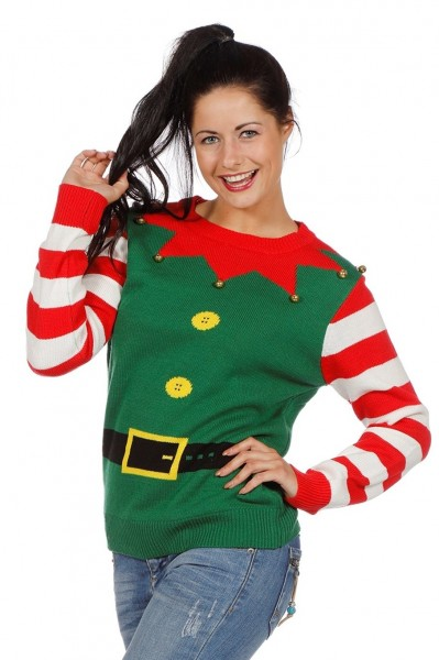 Elf Helper Christmas Jumper