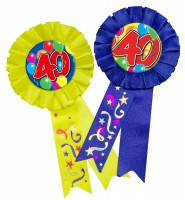 Spectacular 40th Birthday Button