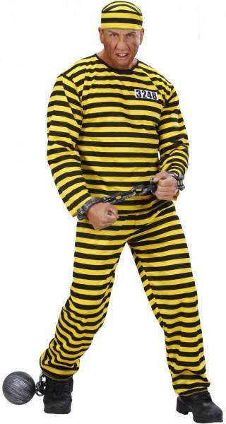 Costume da detenuto Majus