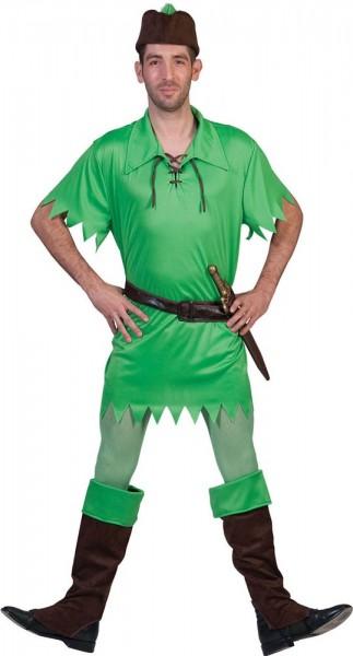 Märchenheld Peter Pan Kostüm Partyde