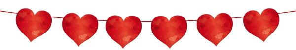 Guirnalda corazones Rosie 6m