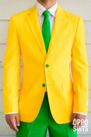 OppoSuits Partyanzug Green and Gold