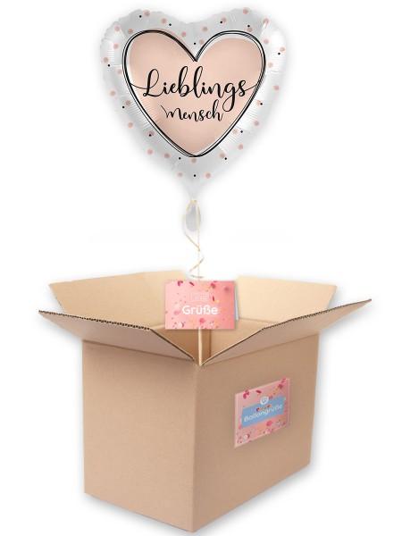 Lieblingsmensch Folienballon 71cm