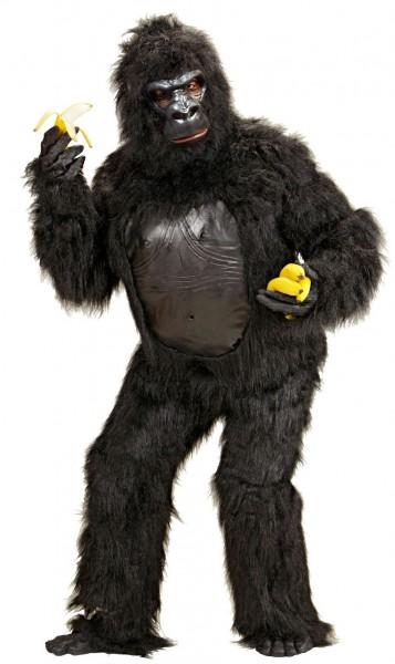 Zwart gorilla kostuum Grumpy unisex