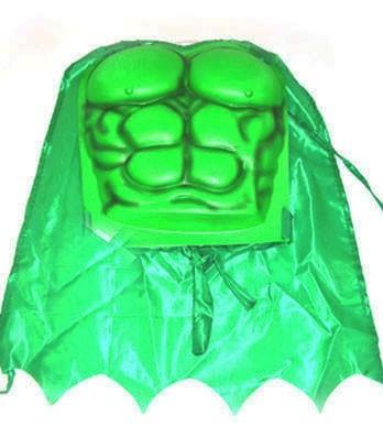 Grüner Raphael Kinderumhang mit Brustpanzer