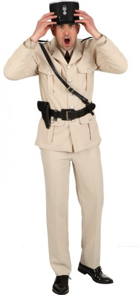 French policeman costume for men