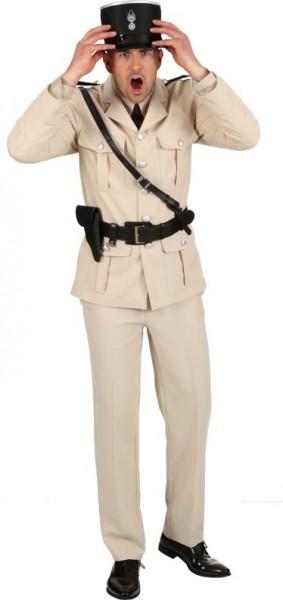 Costume da poliziotto francese per uomo