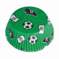48 Muffinförmchen Fußball-Party