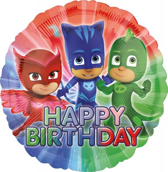 PJ Masks Birthday Ballon 43cm