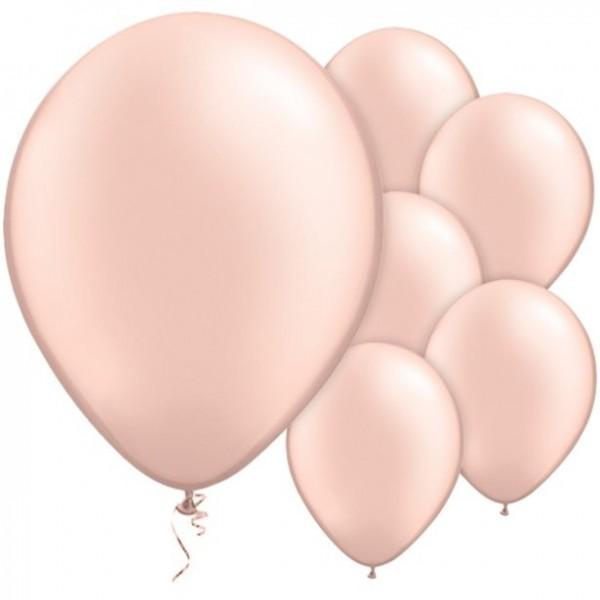 100 Ballons Passion vieux rose 28cm