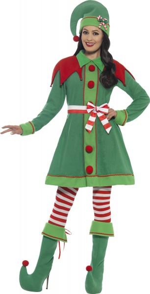 Trixi Christmas elf ladies costume