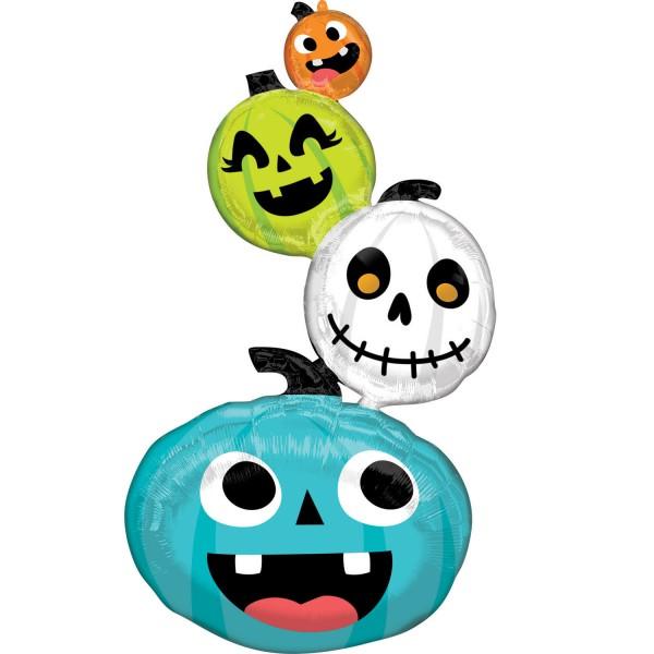 Happy Halloween Family Folienballon 152cm